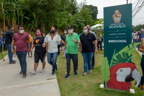 Arthur amplia áreas verdes e espaços comunitários com mais um parque da Juventude, em Manaus