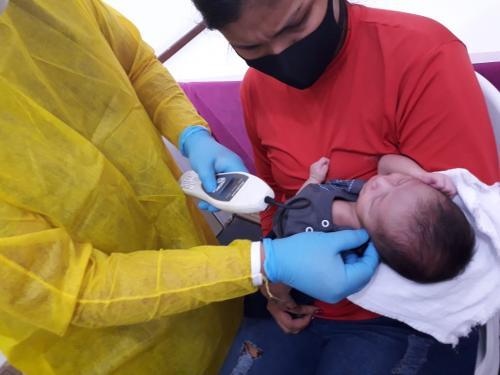 Triagens neonatais em Parintins são realizadas no Ambulatório Municipal de Especialidades