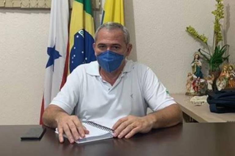 Família desiste de transferir prefeito de Santarém para tratar Covid-19 em SP