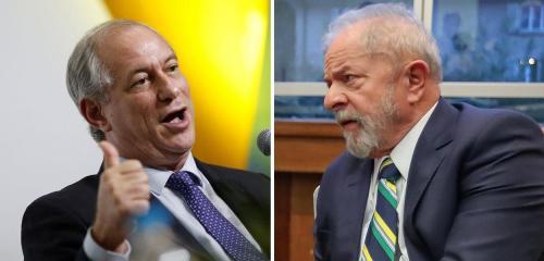 Lula e Ciro se encontraram em São Paulo e retomam diálogo, diz jornal