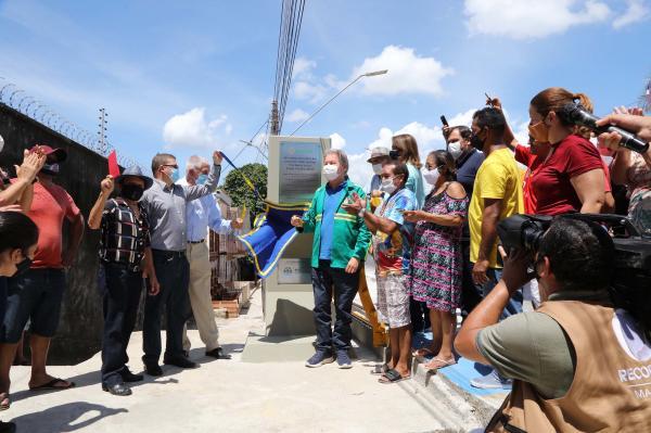 'Uma obra histórica e um compromisso pessoal', diz Arthur ao entregar ponte do Educandos revitalizada