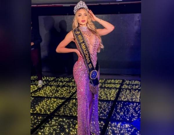Mariana Castilho é coroada Miss Amazonas 2020/21