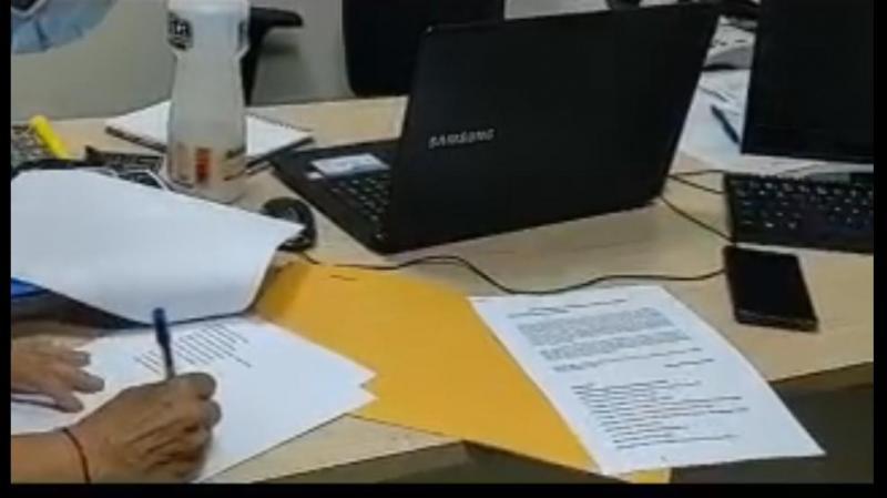 Entidades ingressam com Abaixo-assinado contra aumento de salários de prefeito e vereadores de Manaus