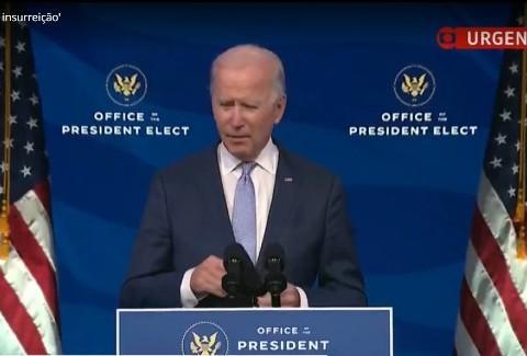 Congresso confirma Joe Biden como novo presidente dos Estados Unidos