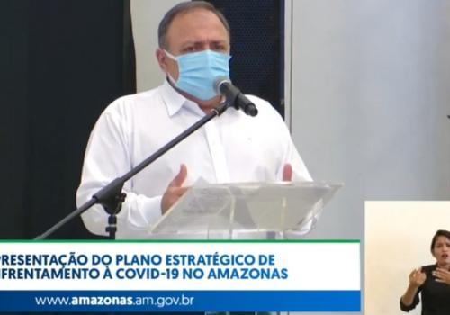 Em vez da vacina, general Pazuello trouxe ivermectina para os amazonenses