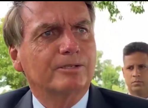 Bolsonaro critica Wilson e David sobre falta de oxigênio