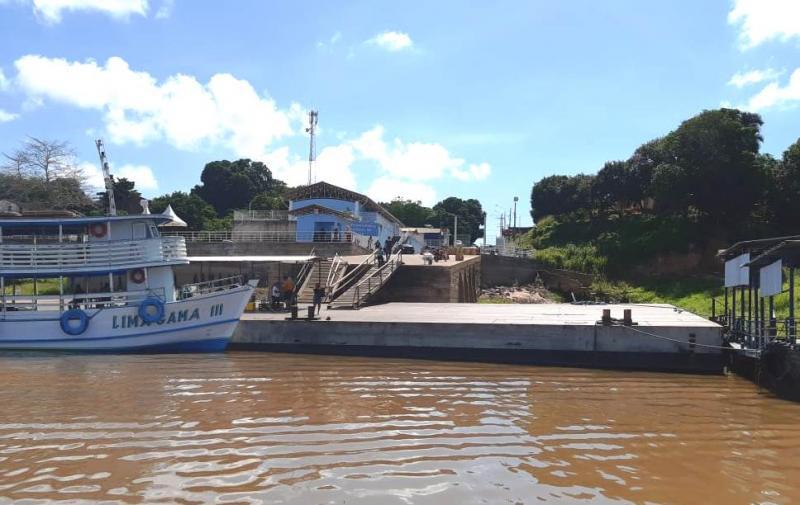 Governo do Pará monta barreira em Juruti para proibir embarcações oriundas do AM