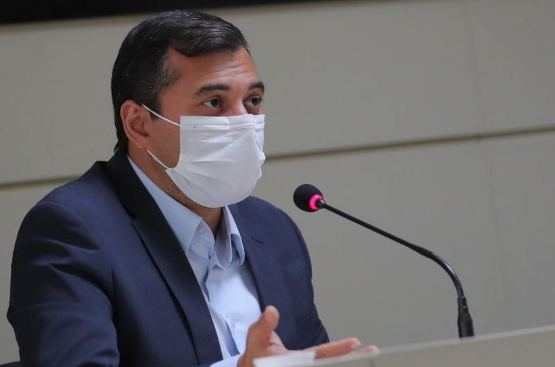 Governador do Amazonas agradece a Venezuela por decisão de enviar oxigênio à Manaus