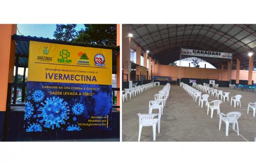 Prefeito de Carauari vai inaugurar 'Centro de Remédio Inútil' e distribuir 20 mil Ivermectina ao povo