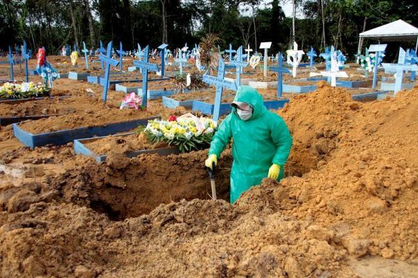 PANDEMIA | Manaus 2020: 1.285 sepultamentos; Manaus 2021: 1.534 enterros