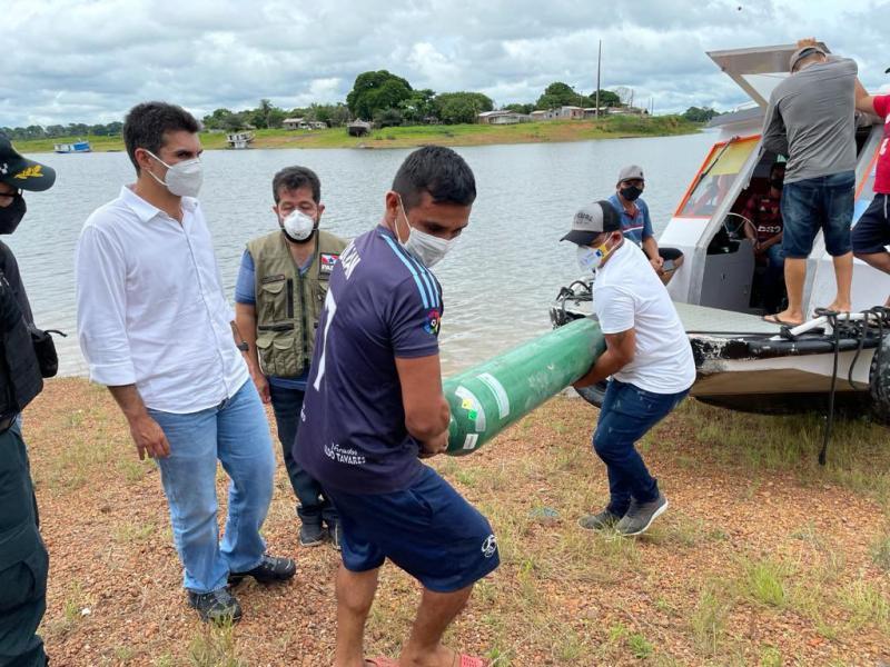 PGR recomendou a Helder assistência e restrições no Oeste do Pará; governador visitou sete municípios