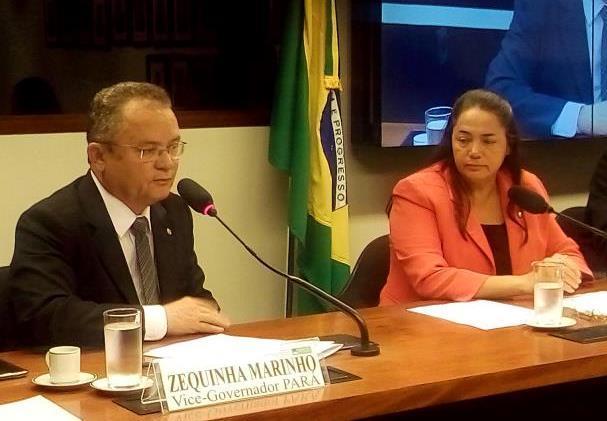 MP Eleitoral pede cassação do senador Zequinha, suplentes e inelegibilidade de Julia Marinho