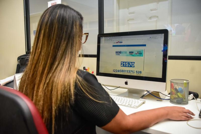 Já está no ar o vacinômetro, o portal de monitoramento da vacinação contra Covid-19, no Pará
