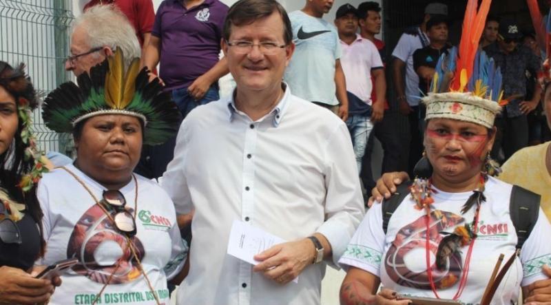 Em Projeto de Lei, Zé Ricardo quer garantir vacinação contra covid aos indígenas que vivem em áreas urbanas
