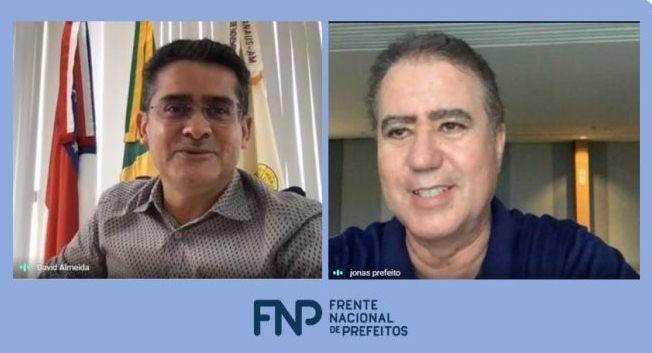 David Almeida irá assumir vice-presidência de Floresta da Frente Nacional de Prefeitos