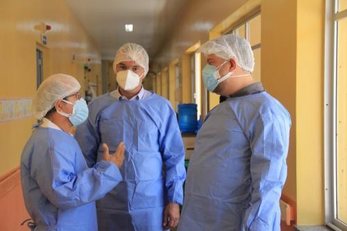 Prefeitura de Parintins e Estado somam forças para combate à Covid-19 no hospital Jofre Cohen