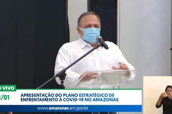 Confusão de Pazuello manda vacinas do Amazonas para o Amapá; AM ficou com 76 mil doses a menos