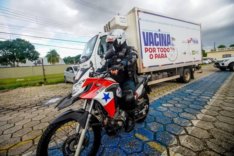 Mais 61 mil doses de vacinas chegam ao Pará