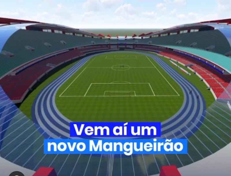 Helder anuncia obra do novo Mangueirão, orçado em R$ 146,9 milhões