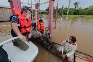 Governo do AM vai encaminhar projeto à ALEAM para anistiar dívidas com a Afeam de produtores afetados pela enchente