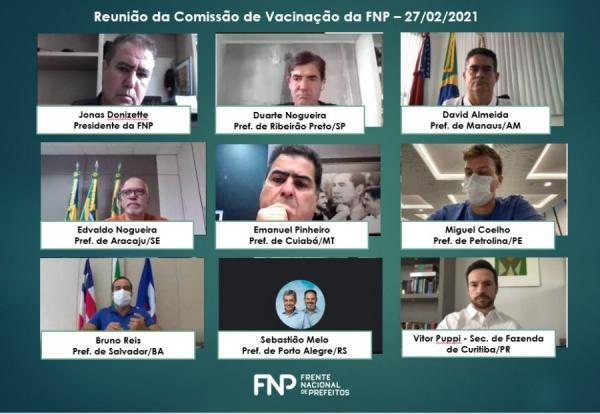 Prefeito de Manaus enviará à Câmara projeto de lei para compra de vacina direto de fornecedores