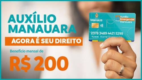 Confira a lista de beneficiados do Auxílio Manauara
