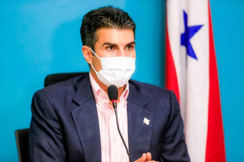 Helder Barbalho pede apoio dos EUA na compra de vacinas para estados da Amazônia
