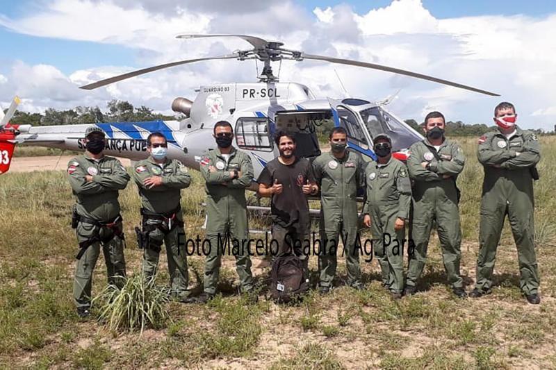 Piloto paraense desaparecido há quase 40 dias é resgatado e levado para Santarém