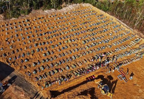 Brasil atinge 300 mil mortos por Covid-19