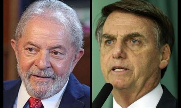 Na primeira pesquisa no AM para presidente, Lula tem 38% contra 27% de Bolsonaro
