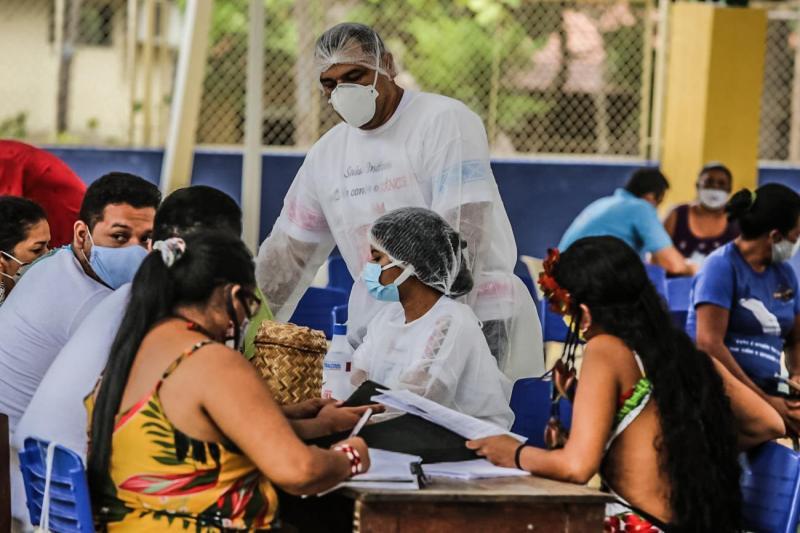 Justiça determina priorização de idosos de Belterra e Mojuí dos Campos na vacinação contra a Covid-19