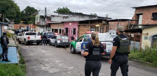 Operação da PM apura homicídios ligados ao tráfico de drogas na zona leste de Manaus