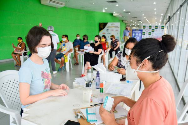 Em Manaus, pessoas com mais de 18 e comorbidades serão vacinadas contra a Covid até sábado (10)