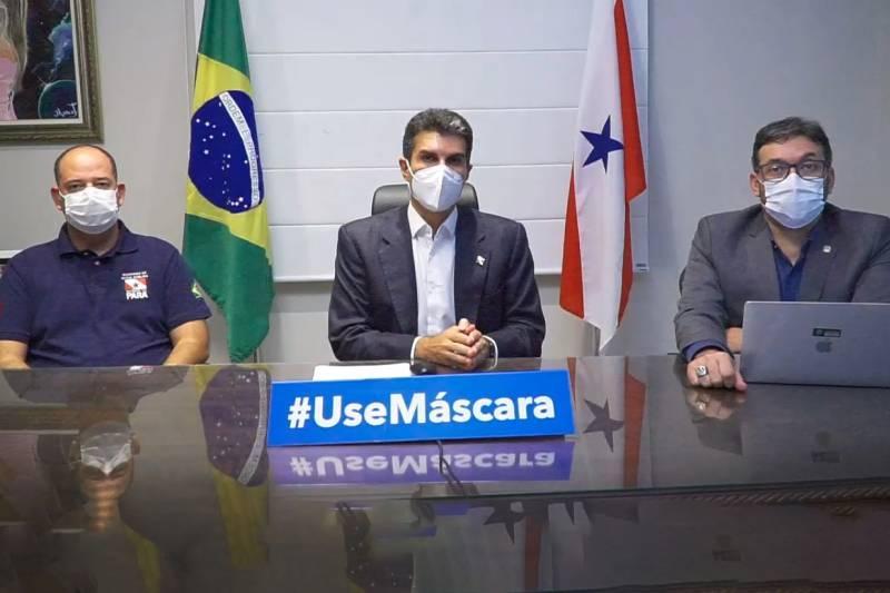 Governo mantém bandeiramento vermelho em todas as regiões do Estado do Pará