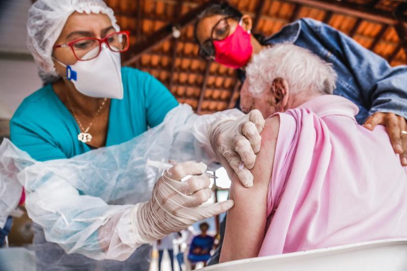 Em Santarém, 100% dos idosos com mais de 80 já receberam 1ª dose da vacina contra a Covid