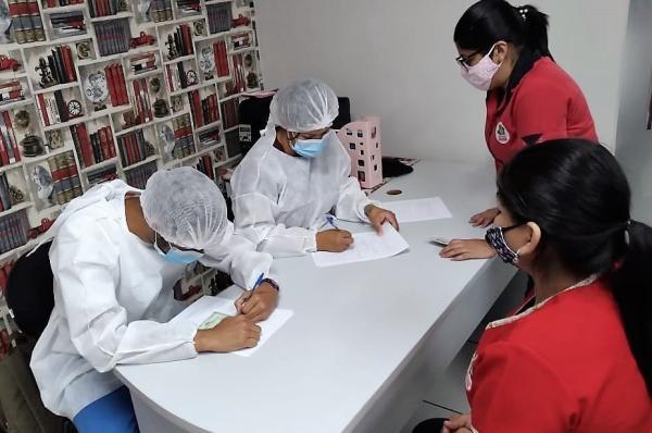 FVS-AM monitora escolas e creches de Manaus com testes de Covid