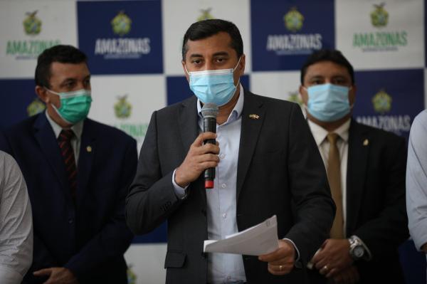Wilson Lima anuncia medidas que vão injetar R$ 300 milhões na economia do Amazonas