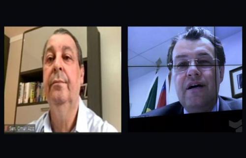Omar Aziz e Eduardo Braga são confirmados membros titulares da CPI da Covid