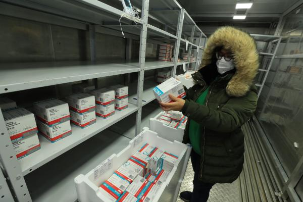 Amazonas recebe 182.650 novas doses de vacinas contra a Covid-19