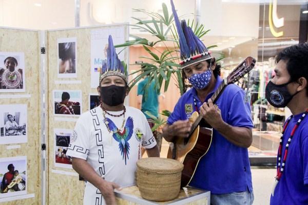Exposição fotográfica destaca protagonismo dos povos indígenas