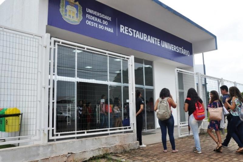 Ufopa lança edital para retirada de alimentação do RU por estudantes e dependentes