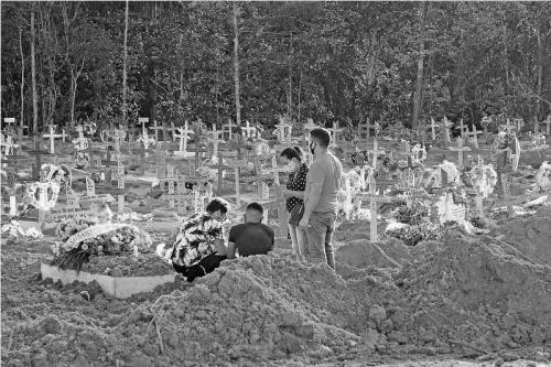 Brasil chega a 400 mil mortes por Covid-19