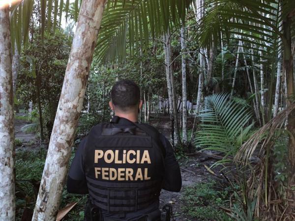 PF combate grupo criminoso que promovia tráfico de drogas em aldeia indígena do AM