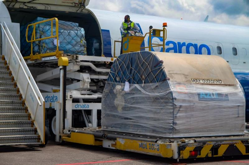 Mais 148.750 doses de vacina contra a covid-19 chegam ao Pará