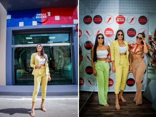 Mayra Dias inaugura loja Chilli Beans em Parintins