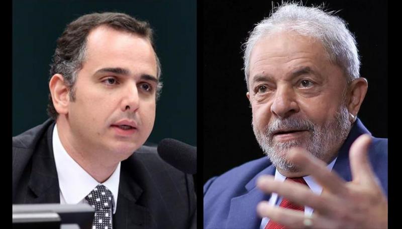 Presidente do Senado recebe Lula nesta quinta (6)