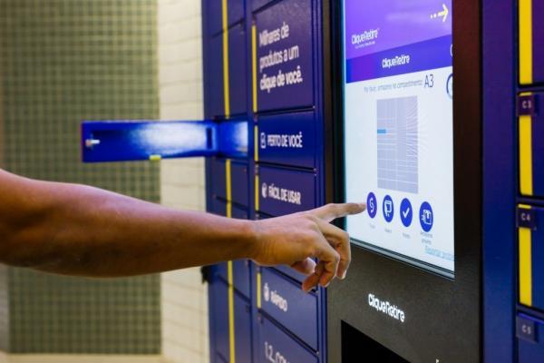 Manauara Shopping oferece armários inteligentes para retirada de produtos