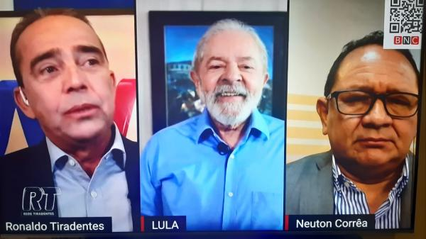Lula diz que prefere PT com candidatura afederal do que ao governo do AM