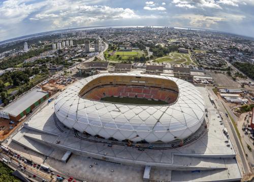 Governador do Amazonas defende jogos da Copa América na Arena da Amazônia, em Manaus