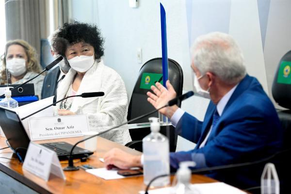 Na CPI, senador médico critica Nise Yamaguchi: 'não sabe o que é vírus, não estudou'